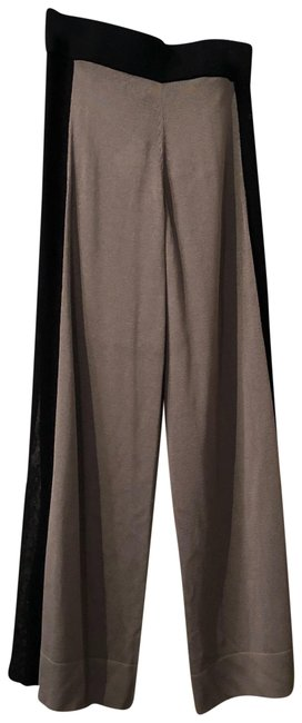 Item - Taupe Black Beachside Pants Sp16.183 Cover-up/Sarong Size 8 (M)
