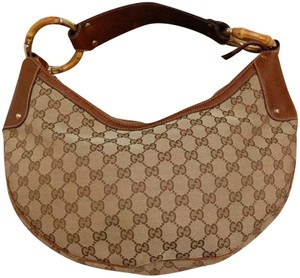266eaf18a4b Brown Gucci Hobo Bags - Up to 90% off at Tradesy