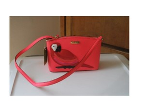 Kate Spade Parrot Saffiano Cross Body Bag