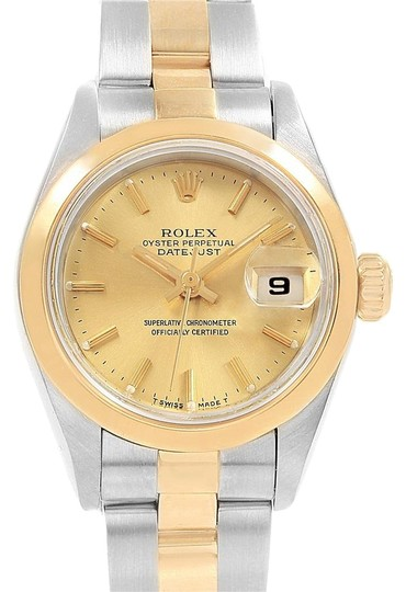 Preload https://img-static.tradesy.com/item/23688551/rolex-champagne-datejust-steel-yellow-gold-ladies-69163-box-papers-watch-0-1-540-540.jpg