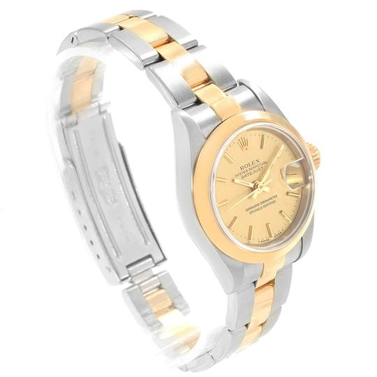 Rolex Rolex Datejust Steel Yellow Gold Ladies Watch 69163 Box Papers Image 2