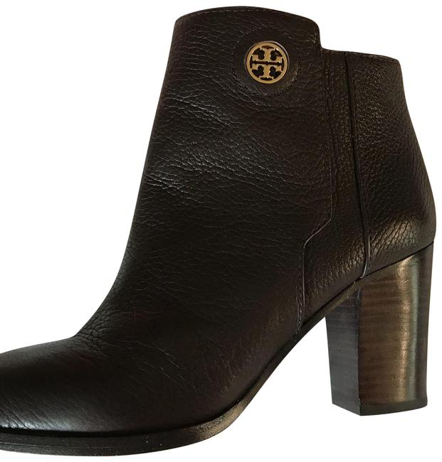 Item - Black Stylish Low Heel Bootie Flats Size US 9 Regular (M, B)