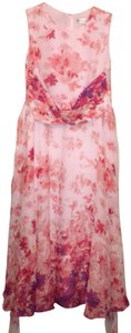 Floral Maxi Dress by Coldwater Creek Silk Dryclean Only