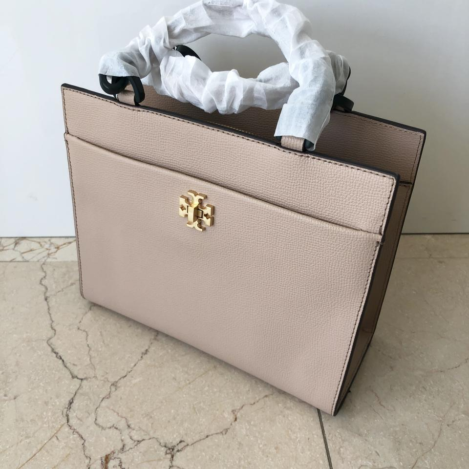 Burch Small Tote Perfect Tory Leather Sand Kira F1dwcExP