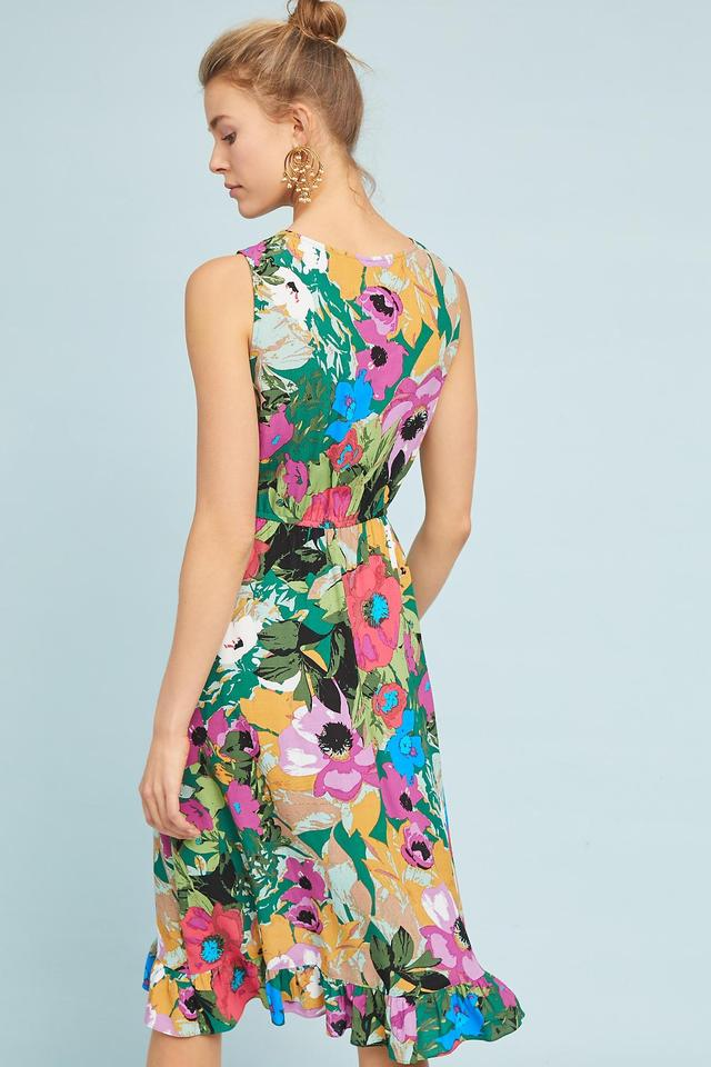 6873ac26ea3 Anthropologie Floral Daphne Wrap Plenty By Tracy Reese Mid-length ...