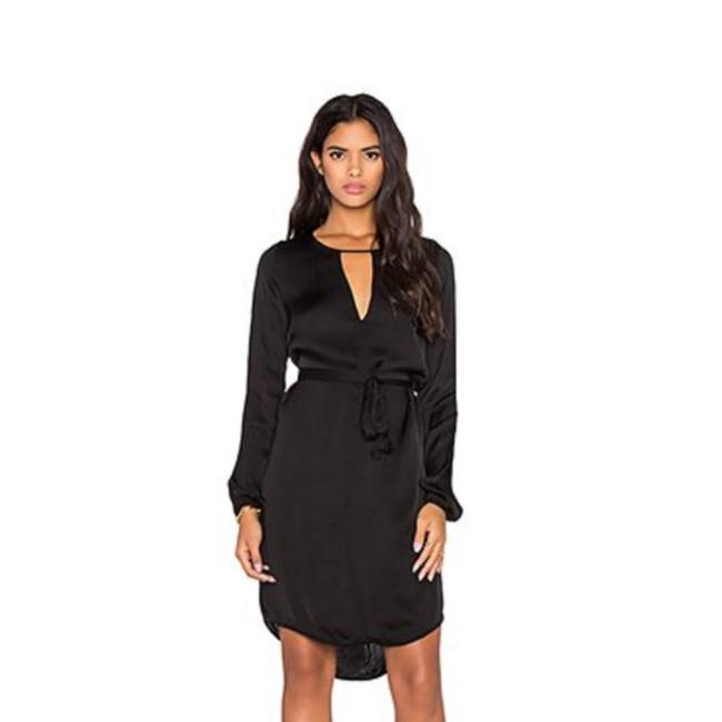 Preload https://img-static.tradesy.com/item/23689266/velvet-by-graham-and-spencer-black-long-sleeve-satin-sheath-short-casual-dress-size-2-xs-0-2-650-650.jpg