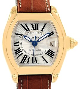 Cartier Cartier Roadster 18K Yellow Gold Large Mens Watch W62005V2 Box Papers
