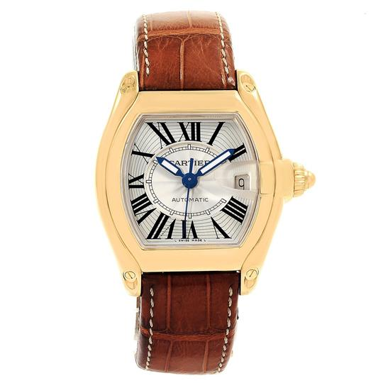 Cartier Cartier Roadster 18K Yellow Gold Large Mens Watch W62005V2 Box Papers Image 1