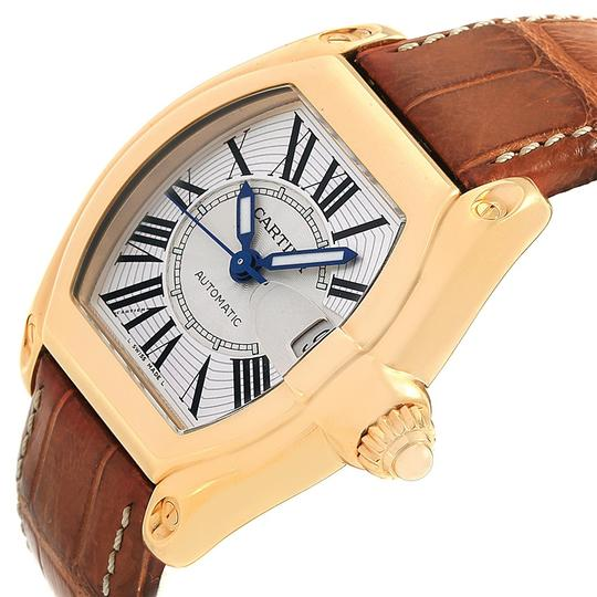 Cartier Cartier Roadster 18K Yellow Gold Large Mens Watch W62005V2 Box Papers Image 4