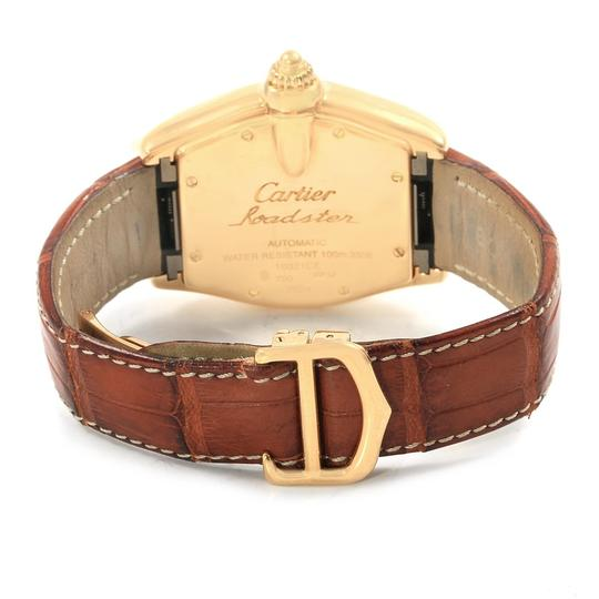 Cartier Cartier Roadster 18K Yellow Gold Large Mens Watch W62005V2 Box Papers Image 6