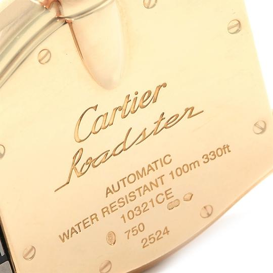 Cartier Cartier Roadster 18K Yellow Gold Large Mens Watch W62005V2 Box Papers Image 7