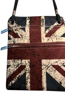 Robin Ruth Union Jack London Touring Mini Flask Cross Body Bag