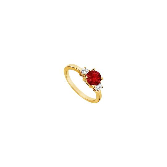 Preload https://img-static.tradesy.com/item/23689565/yellow-white-red-created-ruby-and-cubic-zirconia-engagement-gold-vermeil-ring-0-0-540-540.jpg