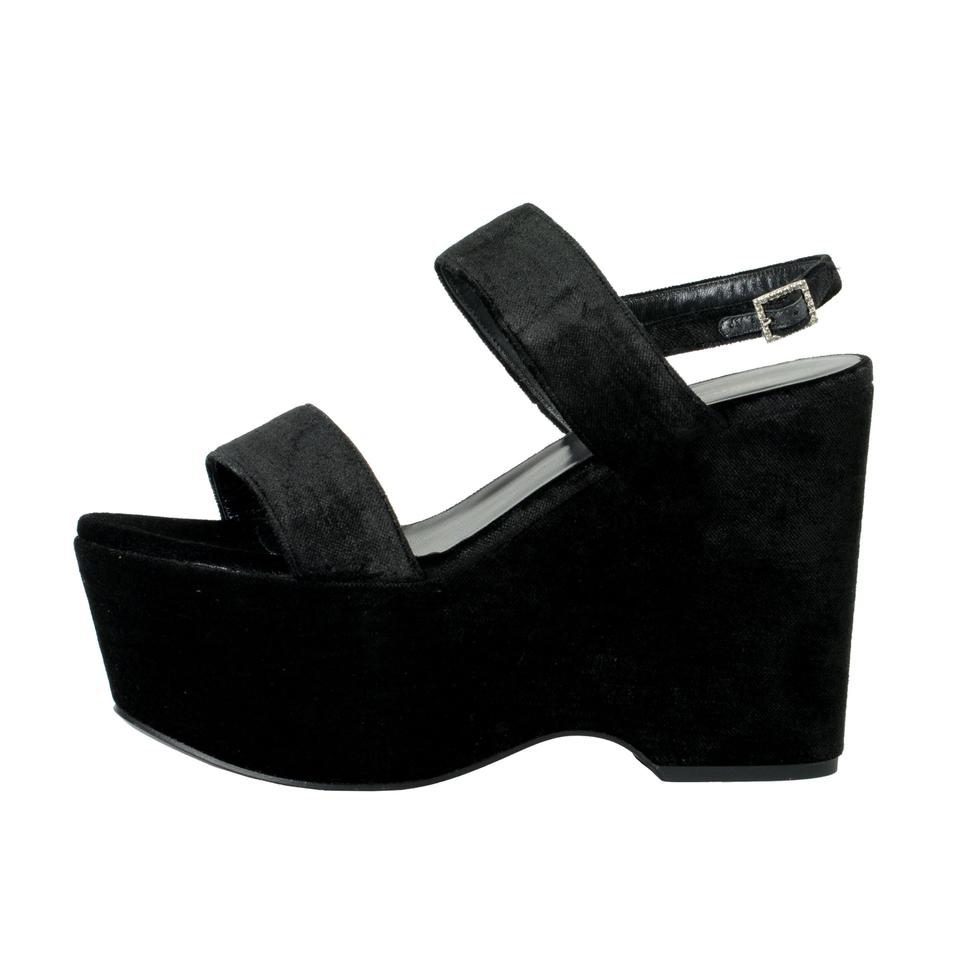 Shoes Saint Laurent Platforms 3146 Black AwqgxqEP
