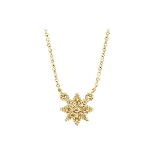 Preload https://img-static.tradesy.com/item/23689683/yellow-gold-vermeil-star-with-matching-chain-necklace-0-0-540-540.jpg