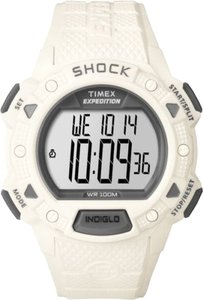 Timex Timex Male Rugged Shock Watch T49899 Grey Digital