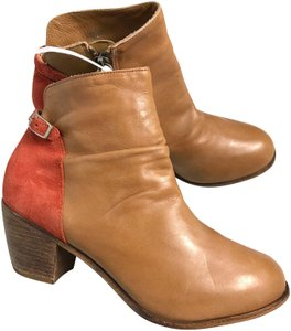 Matisse Leather Brown/Orange Boots