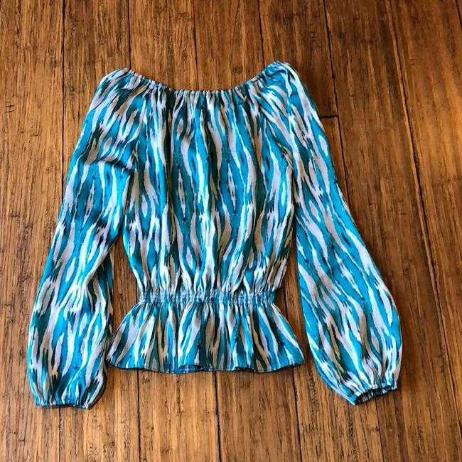 MICHAEL Michael Kors Top Striped Image 1