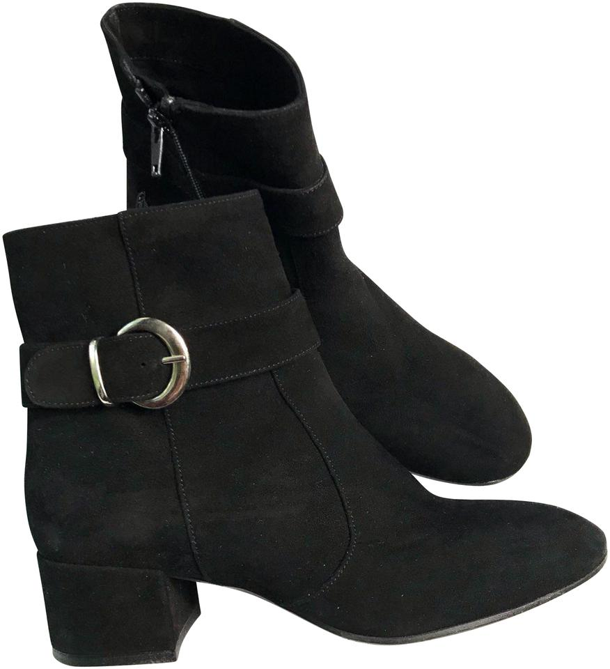 Charles Italy David Black Suede Ankle Italy Charles New Boots/Booties f3cbd9