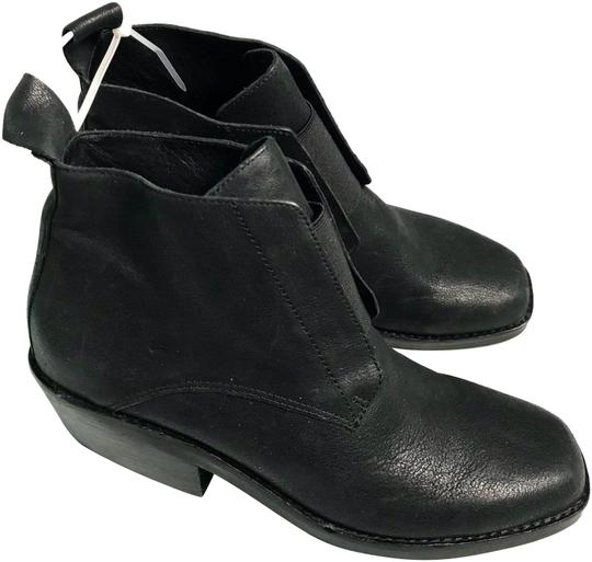 Preload https://img-static.tradesy.com/item/23689840/eileen-fisher-black-leather-ankle-new-bootsbooties-size-us-55-regular-m-b-0-1-540-540.jpg