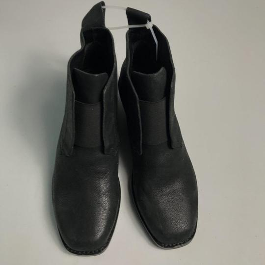 Eileen Fisher Leather Black Boots Image 1