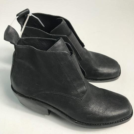 Eileen Fisher Leather Black Boots Image 2