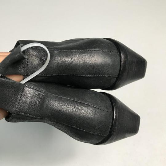 Eileen Fisher Leather Black Boots Image 4
