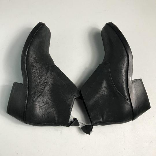 Eileen Fisher Leather Black Boots Image 5