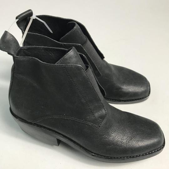 Eileen Fisher Leather Black Boots Image 6