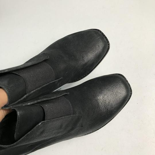 Eileen Fisher Leather Black Boots Image 9