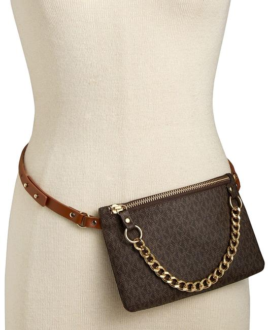Item - Brown Signature Fanny Pack Size Small Belt