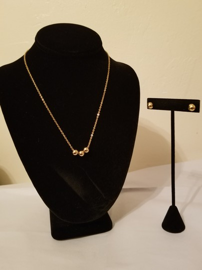 Xquisite by Design TRIPLE BALL BEADED CHAIN JEWELRY SET Image 4