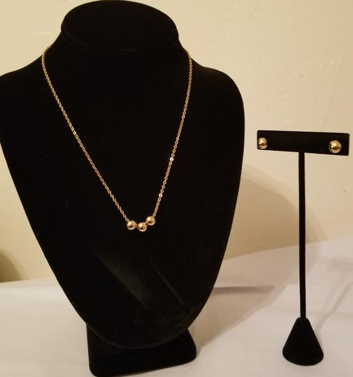 Xquisite by Design TRIPLE BALL BEADED CHAIN JEWELRY SET Image 6