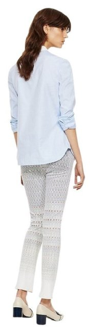 Tory Burch New Bootcut Spring Bootcut Spring New New Bootcut New Gray Capri/Cropped Denim-Light Wash Image 1