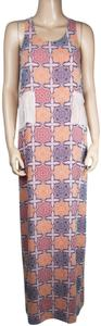 Peach Maxi Dress by BCBGeneration Red Maxi
