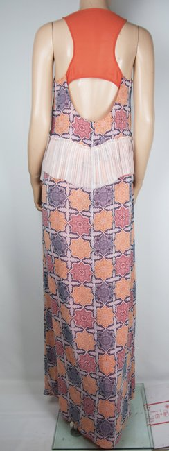 Peach Maxi Dress by BCBGeneration Red Maxi Image 1