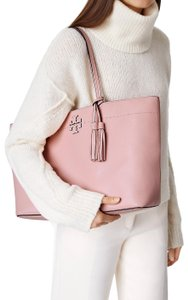 Tory Burch Carryall Fleming Tote in Pink