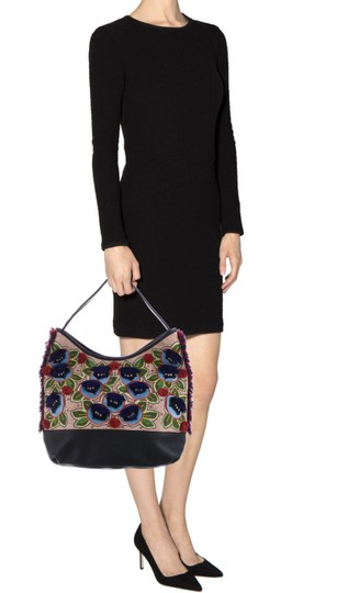 Tory Burch Tote in navy multi Image 1