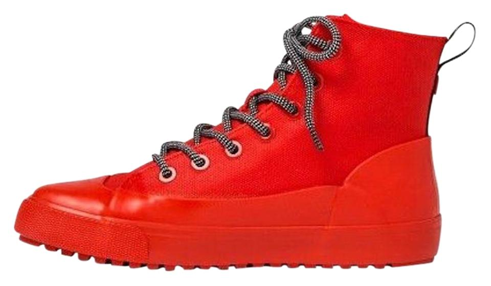 Hunter Boots Canvas Red Booties Sneakers rHrfq