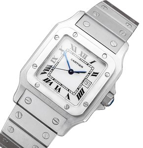 Cartier Cartier Santos Automatique Mens Bracelet Watch - Stainless Steel