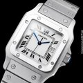 Cartier Cartier Santos Automatique Mens Bracelet Watch - Stainless Steel Image 2