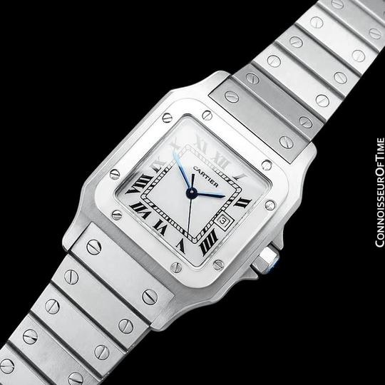 Cartier Cartier Santos Automatique Mens Bracelet Watch - Stainless Steel Image 4