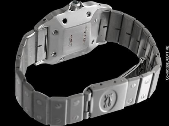 Cartier Cartier Santos Automatique Mens Bracelet Watch - Stainless Steel Image 6