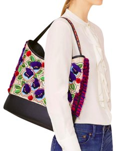 Tory Burch Summer Floral Tote in Multicolor NEW
