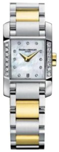 Baume & Mercier Baume & Mercier Ladies Hampton Watch Stainless Steel, Gold with Diamon