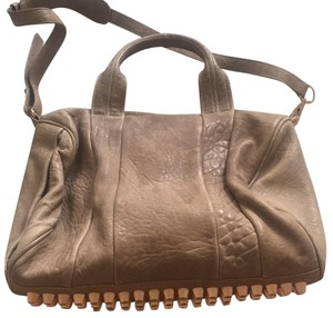 Alexander Wang Satchel in tan