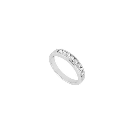 Preload https://img-static.tradesy.com/item/23690501/white-white-cubic-zirconia-channel-set-wedding-band-sterling-silver-050-ct-czs-ring-0-0-540-540.jpg