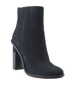 Tory Burch Ankle Suede Blue Boots