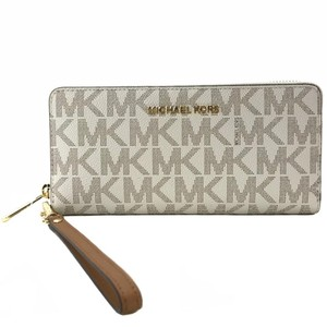 Michael Kors MICHAEL KORS Jet Set Travel LG Zip Around Continental Wallet Wristlet