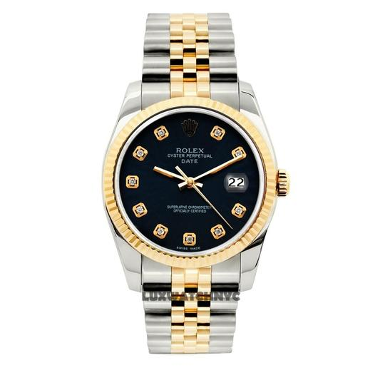 Preload https://img-static.tradesy.com/item/23690796/rolex-navy-blue-34mm-midsize-date-2tone-with-box-and-appraisal-watch-0-0-540-540.jpg